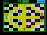 Archon: The Light and the Dark ZX Spectrum The archer takes it