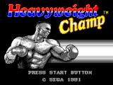 "James ""Buster"" Douglas Knockout Boxing SEGA Master System Title screen (European version)"