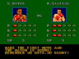 "James ""Buster"" Douglas Knockout Boxing SEGA Master System Match-up of the first fight"