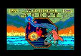 Archon II: Adept Amstrad CPC Title screen