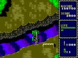 Line of Fire SEGA Master System Use ramps to jump over rivers.