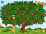 "Playhouse Disney's The Book of Pooh: A Story Without a Tail Windows The player ""bounces"" Tigger through the apple tree to collect fruit in Piglet's basket"