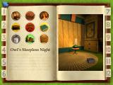 Playhouse Disney's The Book of Pooh: A Story Without a Tail Windows The story and illustration look a little empty until the player clicks the stickers...