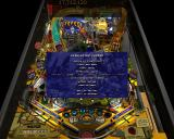 Pro Pinball: Big Race USA Windows Game paused