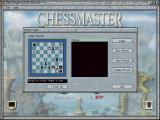 Chessmaster 8000 Windows The log-in screen