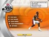 NBA Live 2003 Windows Title screen.