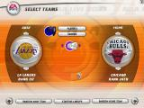 NBA Live 2003 Windows Selecting teams.