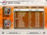 NBA Live 2003 Windows Selecting players for an one on one match.