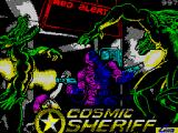 Cosmic Sheriff ZX Spectrum Title screen