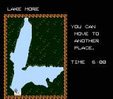 The Black Bass NES Third round is Lake More.