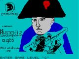 Austerlitz ZX Spectrum Title screen