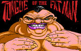 Tongue of the Fatman DOS Title screen (EGA)