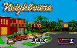 Neighbours Atari ST Loading screen