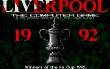 Liverpool: The Computer Game Atari ST The main title screen