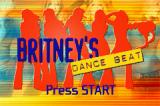 Britney's Dance Beat Game Boy Advance Title screen