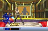 Britney's Dance Beat Game Boy Advance Each time you do it correctly the bottom bar fills up.