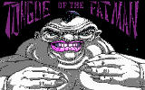 Tongue of the Fatman DOS Title screen (CGA)