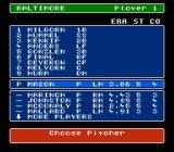 Bo Jackson Baseball NES Select the team batting line up or just leave it as is.