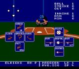 Bo Jackson Baseball NES Left side shows all the five different pitches the pitcher can do. Just need to press the correct direction on the D-pad.