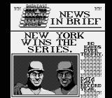 Bo Jackson Baseball NES The team also gets a mention on the sports paper. (Note the Data East self-promotion)