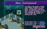 X-COM: Terror from the Deep DOS You can store live aliens in the alien containment facility