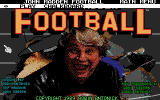 John Madden Football DOS Open splash / Menu screen