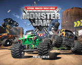 Monster Jam Windows Title Screen