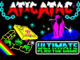 Atic Atac ZX Spectrum Loading screen