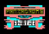 Panzadrome Amstrad CPC Loading screen