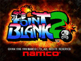 Point Blank 2 PlayStation Title screen