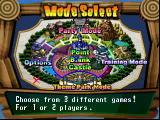 Point Blank 2 PlayStation Mode selection screen