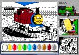 Thomas the Tank Engine & Friends Genesis Some still need to be colored in.