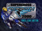 Jeremy McGrath Supercross 2000 PlayStation Title screen