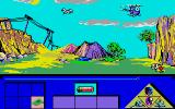 Indian Mission Atari ST Flying to plateau in Helicopter...