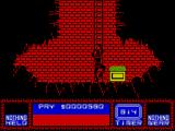 Saboteur II ZX Spectrum Treasure room, now I am immortal.