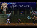 Castlevania: Symphony of the Night PlayStation Alucard finds Richter, but he's got a few friends with him...