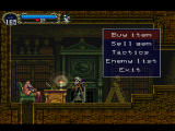 Castlevania: Symphony of the Night PlayStation Consumerism at its worst: in the middle of a haunted castle some old fart puts a shop!!