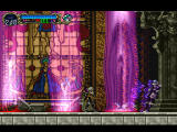 Castlevania: Symphony of the Night PlayStation Avoiding count Orlock's strikes.