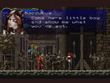 Castlevania: Symphony of the Night PlayStation Ah... the famed naked Succubus!