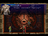 Castlevania: Symphony of the Night PlayStation Alucard confronts Maria.