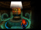 "Crash Bandicoot 2: Cortex Strikes Back PlayStation At end the end of each level you are displayed your ""question box"" score."