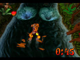 Crash Bandicoot 2: Cortex Strikes Back PlayStation On the water board avoiding whirpools!
