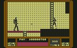 Saboteur II Commodore 64 I have gone deeper into the base. Here is an enemy guard.