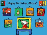 Happy Birthday, Maisy! Windows Choose story mode or play the games