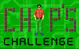 Chip's Challenge DOS Title screen (EGA, Tandy)