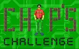 Chip's Challenge DOS Title screen (VGA)