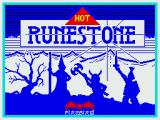 Runestone ZX Spectrum Loading screen (Firebird release)