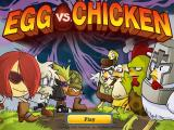 Egg vs. Chicken Windows Title screen