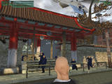 Hitman: Codename 47 Windows A frontal assault puts you up against more than a dozen Uzi packing guards as well as an assault helicopter. The slopper way to carry out an assassination.