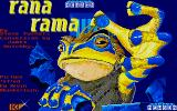 Rana Rama Atari ST Loading screen